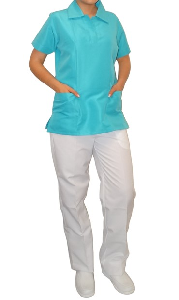 uniforme Conjunto Polo Mayo Unicolor